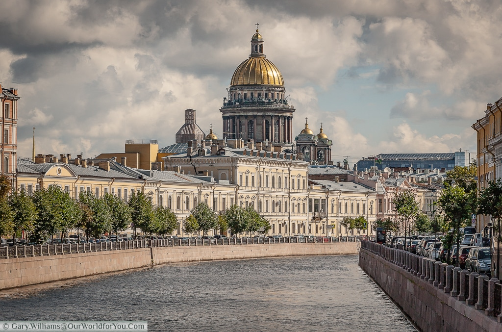 Moyka River - St Isaac's - St Petersburg - Russia