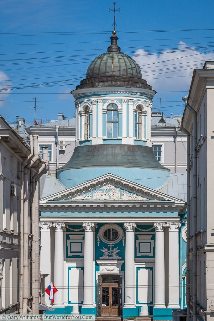 The Armenian church, tucked away off Nevsky Prospect. Part of our Cathedrals & Churches post.