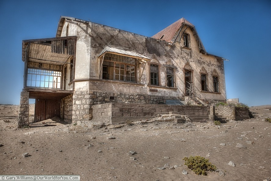 The Bookkeeper's house, Kolmanskop, Namibia