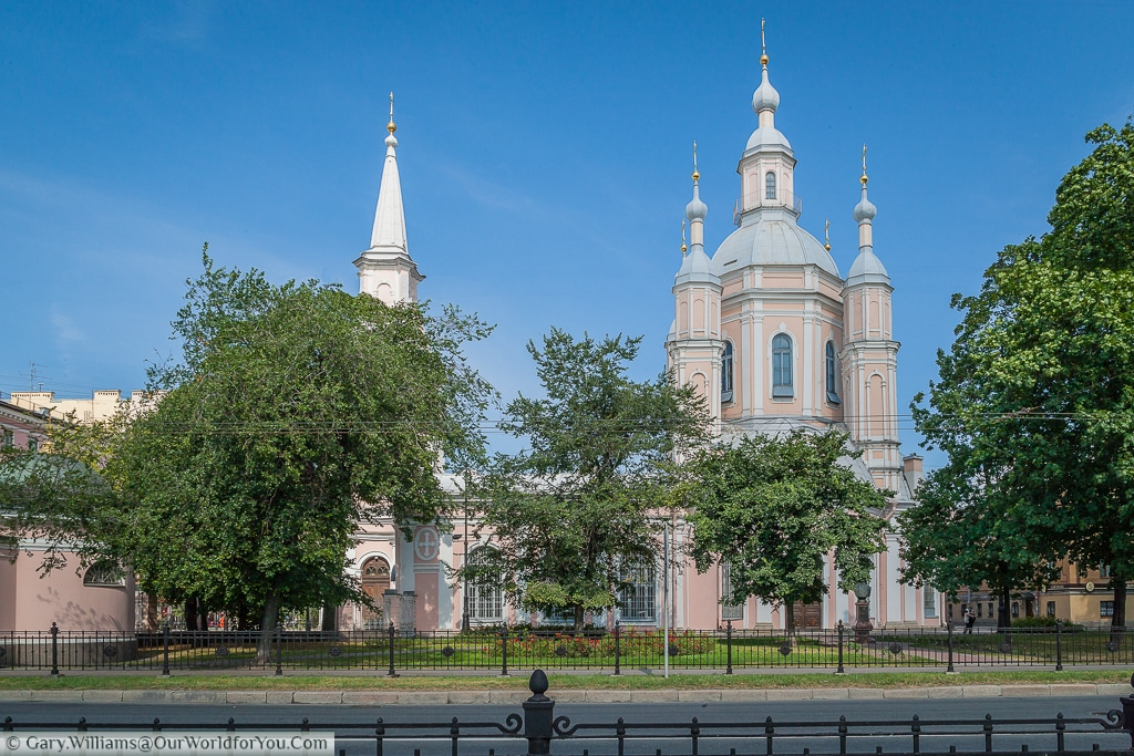 The Cathedral of St Andrew, St Petersburg, Russia