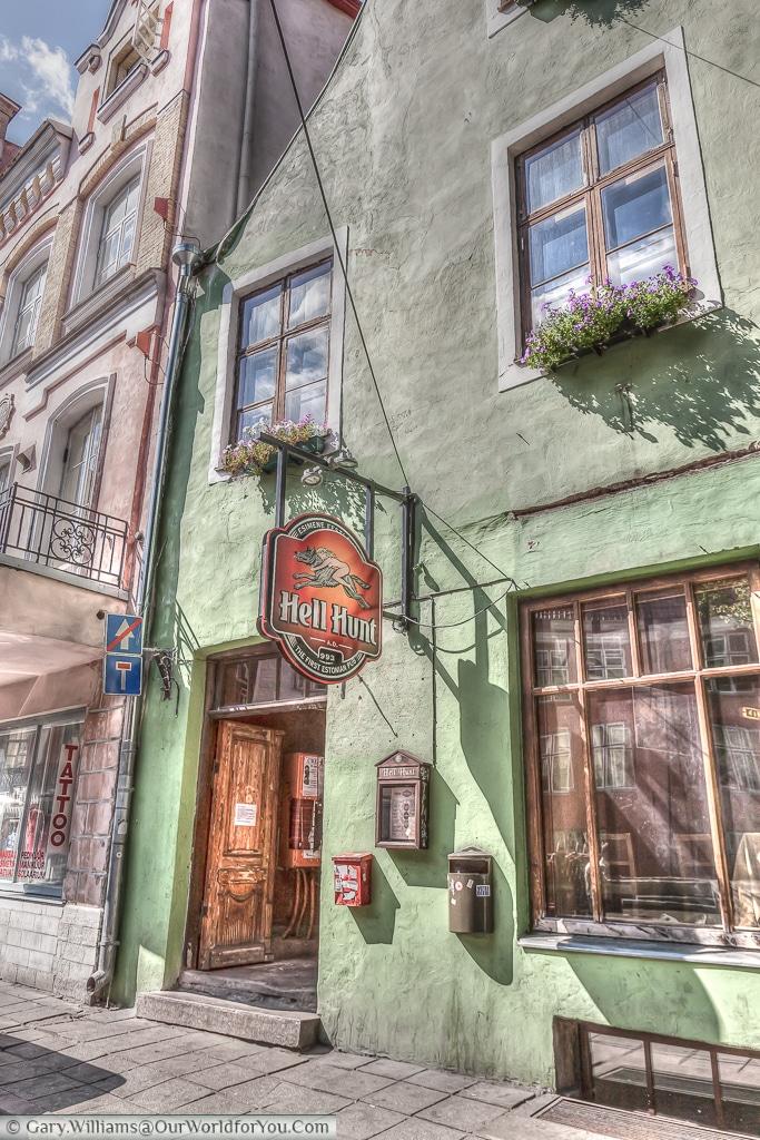 The Hell Hunt Pub - Tallinn, Estonia