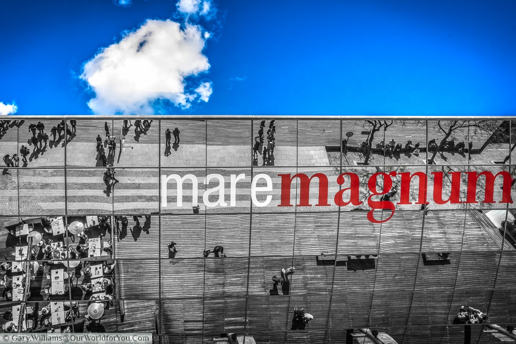 The Maremagnum shopping and leisure centre, Barcelona, Spain