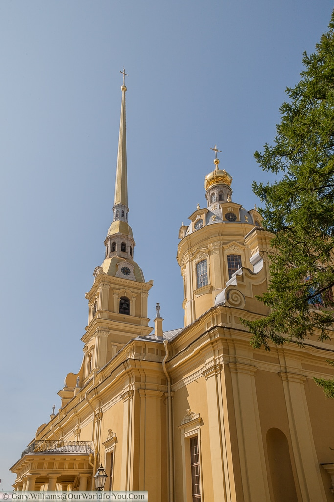 The Peter and Paul Cathedral, St Petersburg, Russia