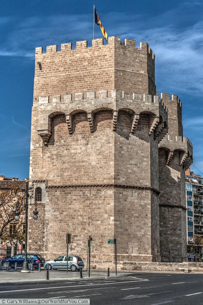 The Torres de Serranos, Valencia, Spain