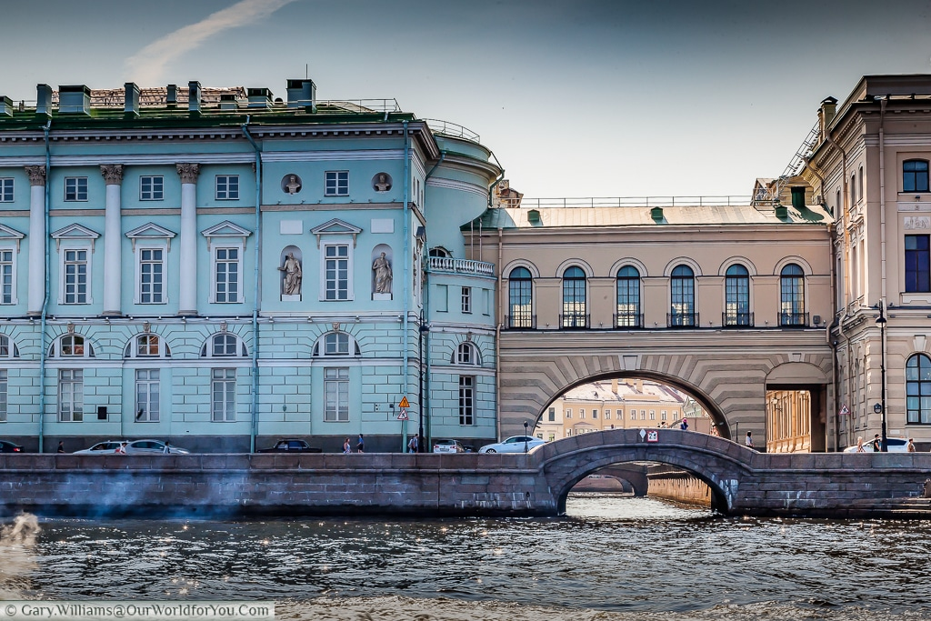 The Winter canal, St Petersburg, Russia