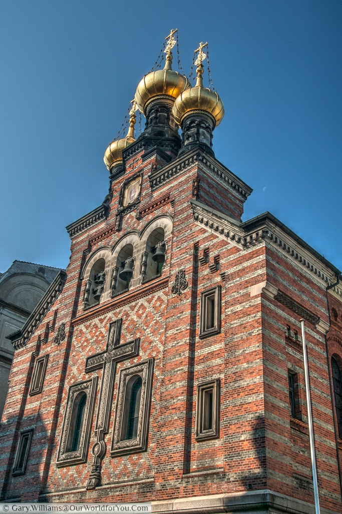 The Alexander Nevsky Church, Copenhagen, Denmark