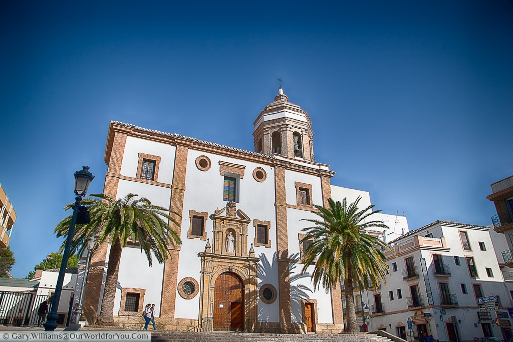 The Church of Our Lady of Mercy Round from the Plaza de la Merced, Ronda, Spain