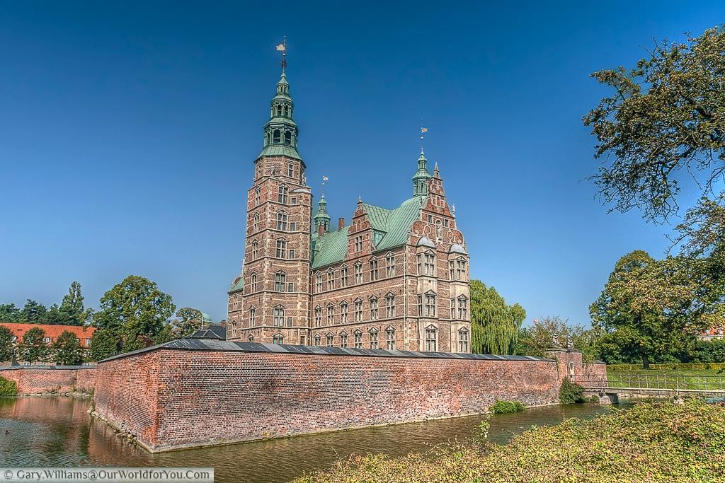 Rosenburg Castle, a Dutch Renaissance style castle commissioned by Chrisitan IV.