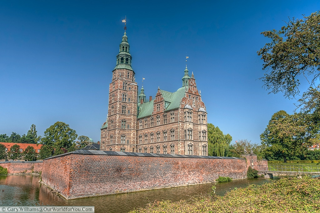 Rosenburg Castle, a Dutch Renaissance style castle commissioned by Chrisitan IV.