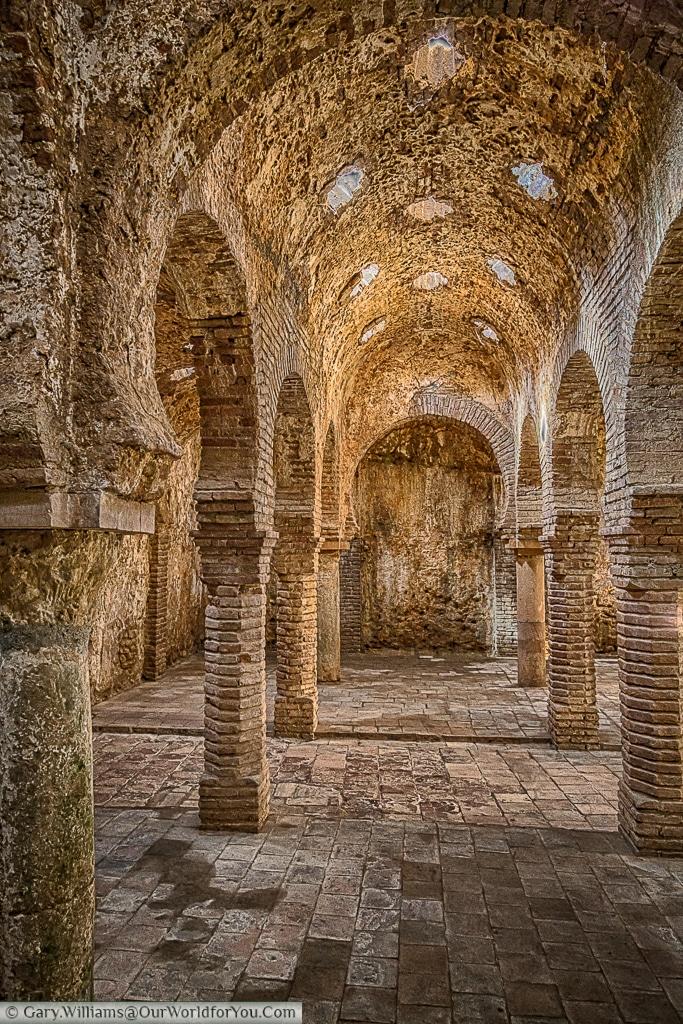 The Arab Baths, Ronda, Spain