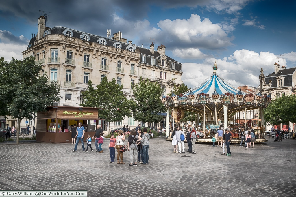 The Carousel, Troyes, Champagne, Grand Est, France