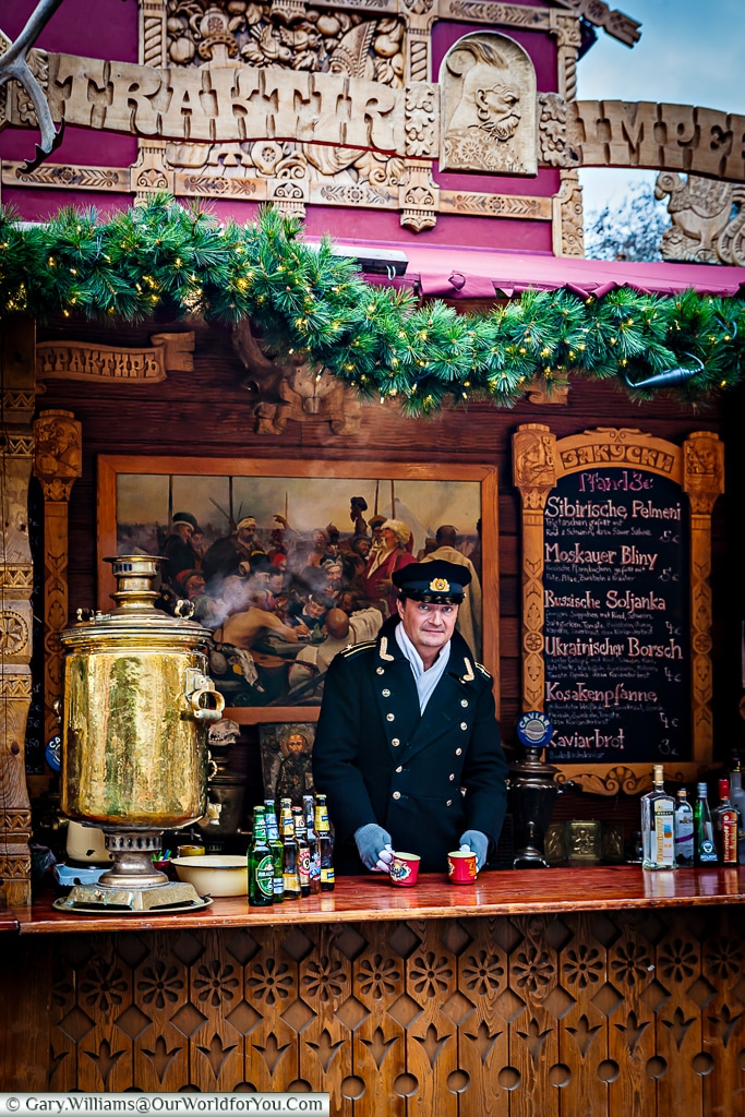 There was once Russian food too - 2009, Christmas Markets, Cologne, Germany