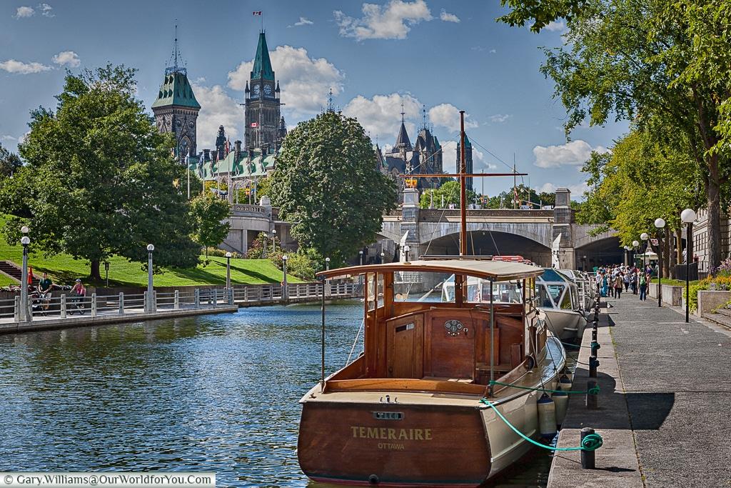 The Rideau Canal, Ottowa, Canada