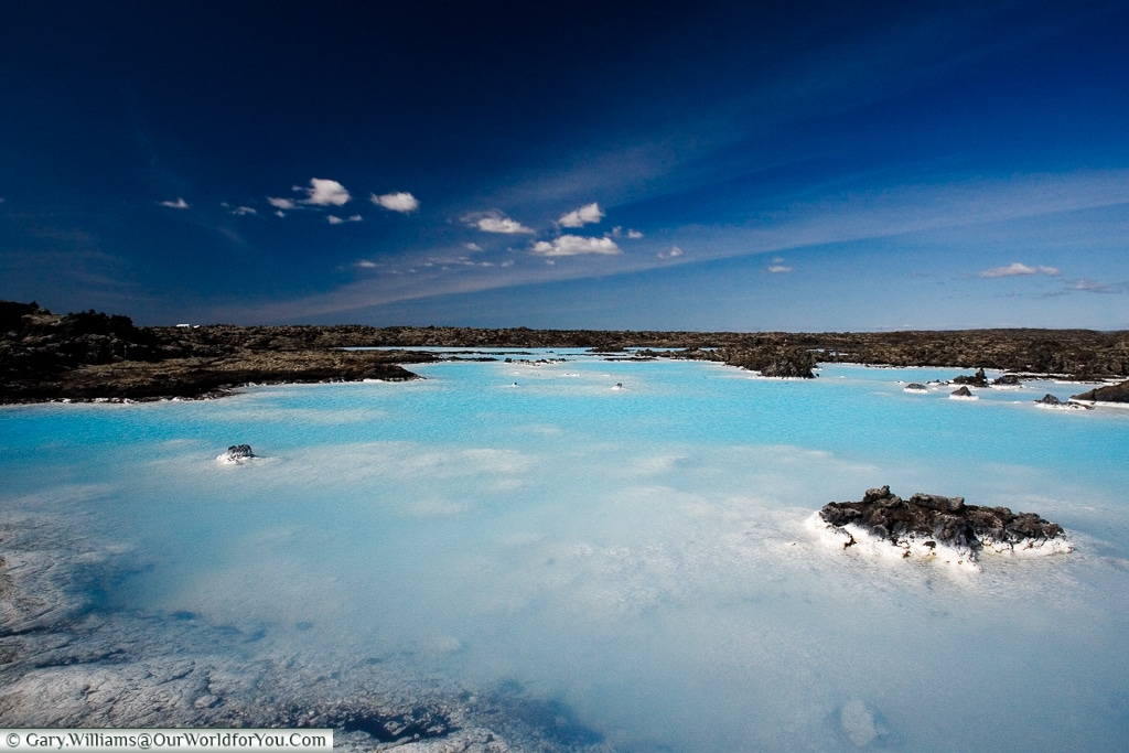 The original Blue Lagoon, Iceland
