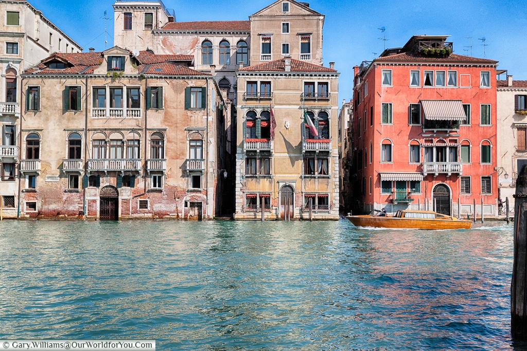 Across the Grand Canal from Campo S. Vio, Venice, Italy