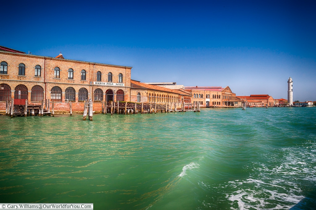 Leaving the Island, Murano, Venice, Italy