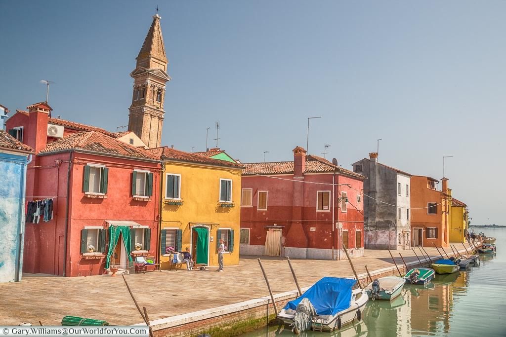 Normal life, Burano, Venice, Italy