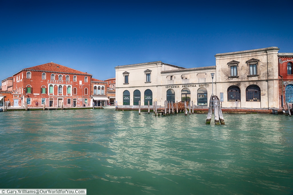 On the waterfront, Murano, Venice, Italy