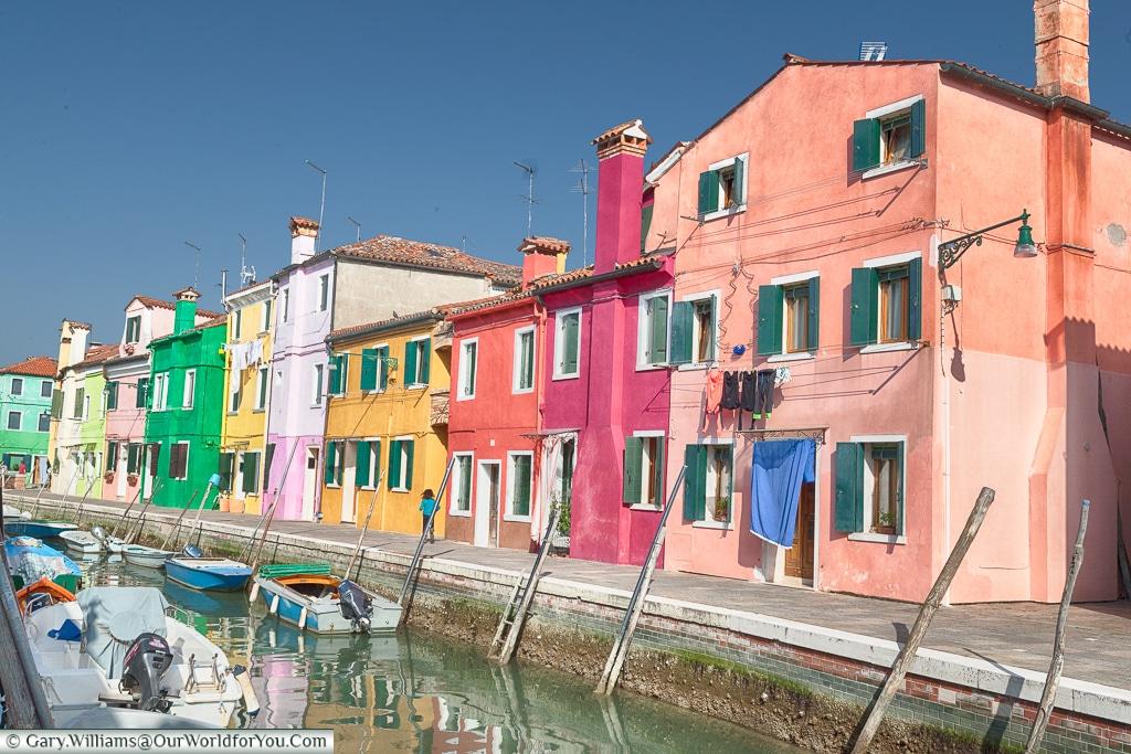 Real life, Burano, Venice, Italy