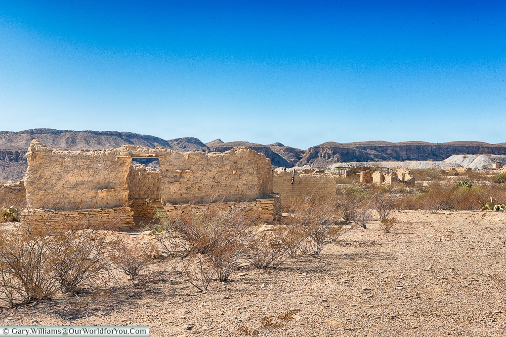 Terlingua Ghost Town, just outside Big Bend NP, Texas, USA