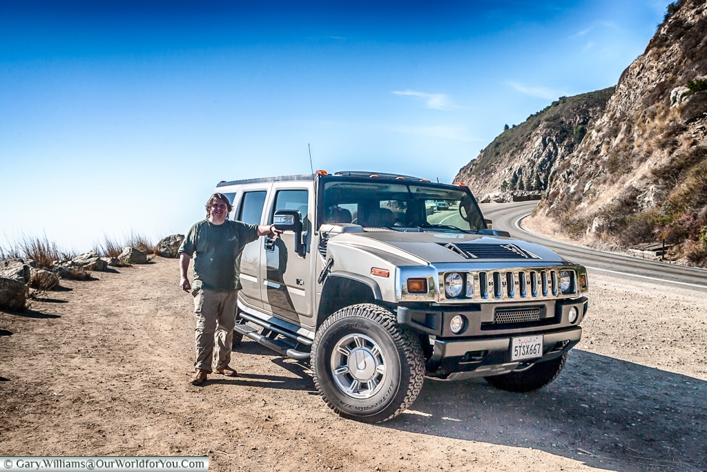 The Hummer H2 - Our Heavyweight chariot for 2006 USA road trip.