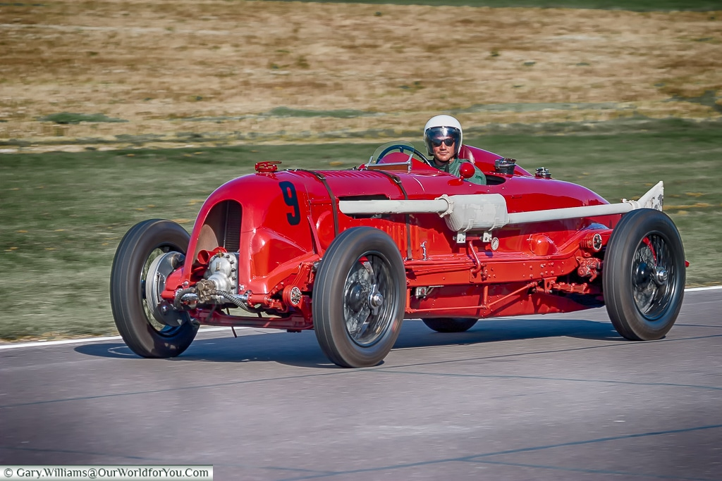 The Red Beast, Goodwood Revival, UK