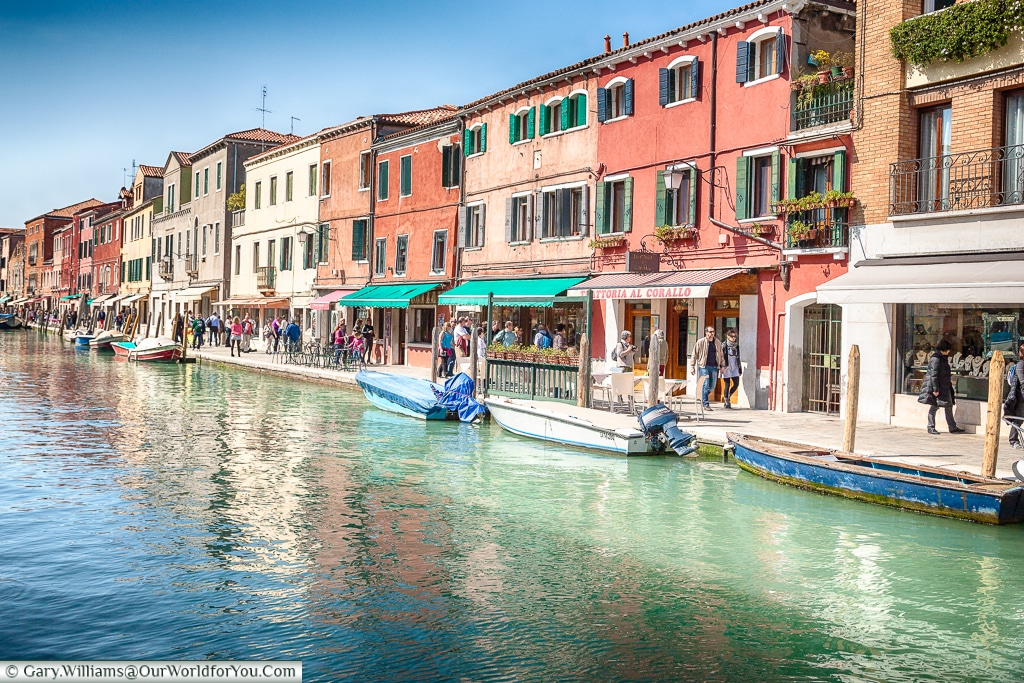 Wandering through Murano, Venice, Italy