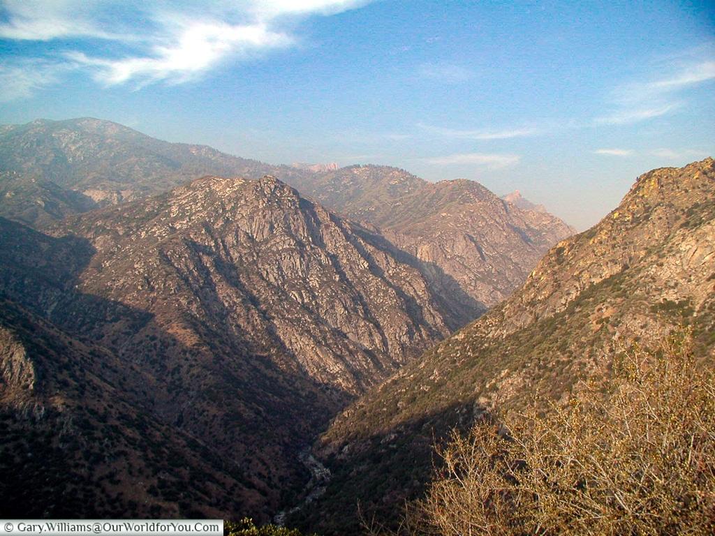 Kings canyon, California, USA