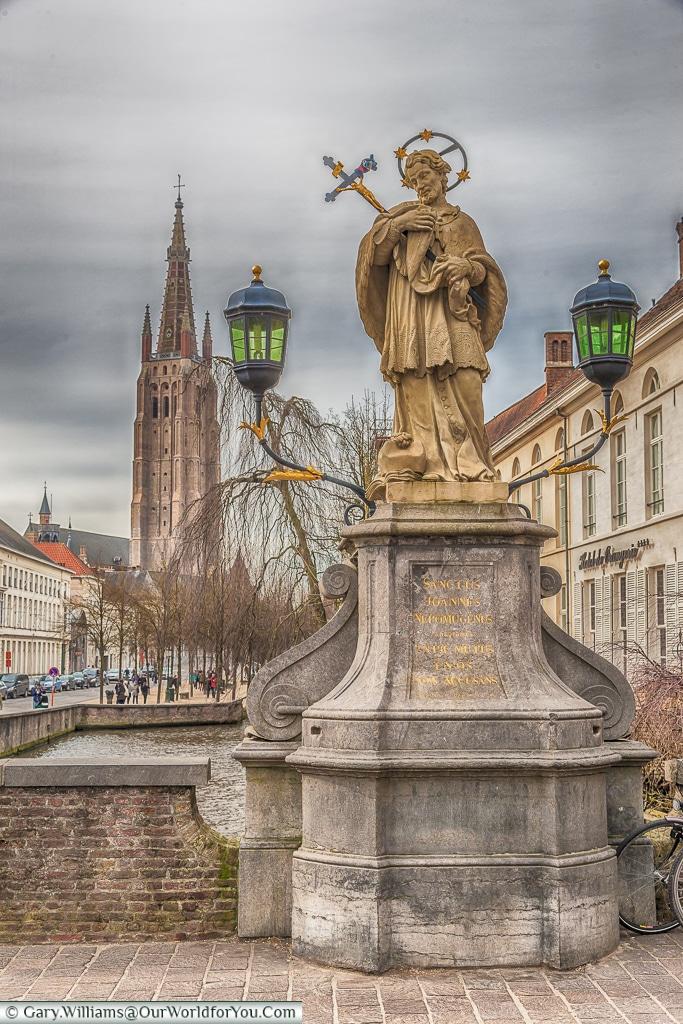 Sanctus Joannes Nepomucenus, Bruges, Belgium