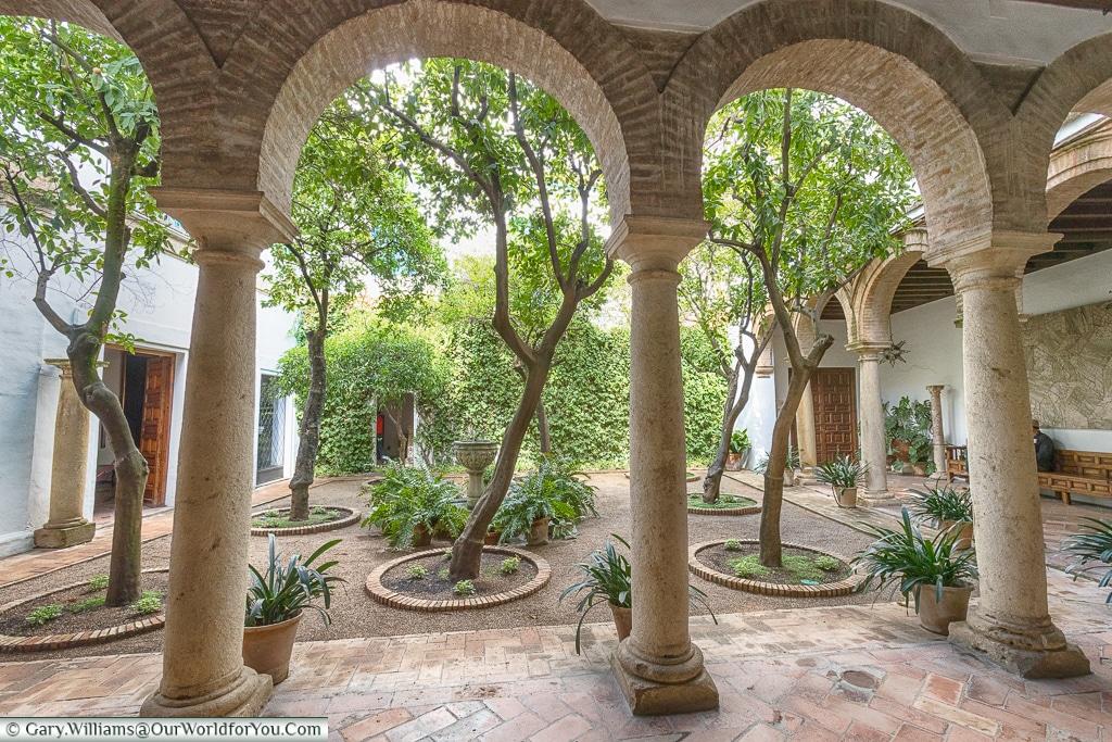 The Courtyard of the Chapel, Palacio de Viana, Córdoba, Spain