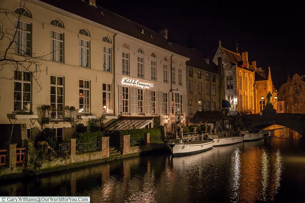 The Hotel de Orangerie, Bruges, Belgium