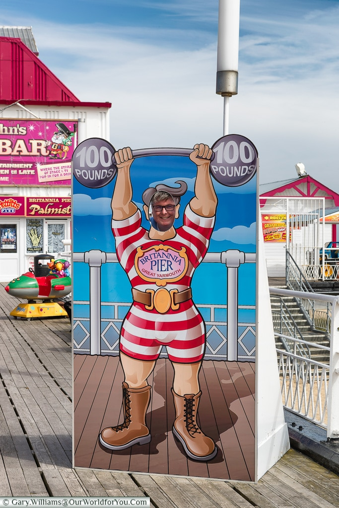 How strong is Gary, Great Yarmouth, Norfolk, England, Great Britain