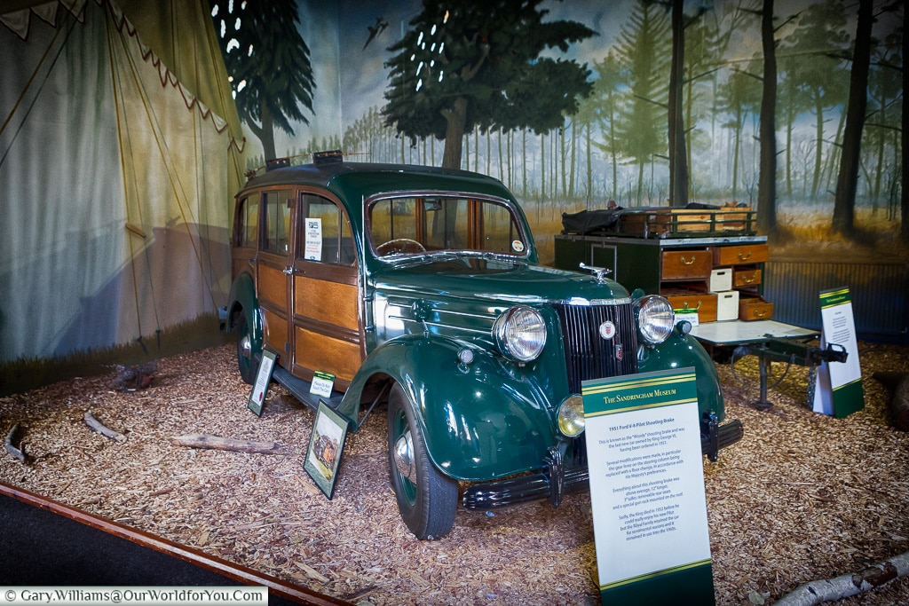 The 1951 Ford V-8 Pilot Shooting Brake, Sandringham, Norfolk, England, UK