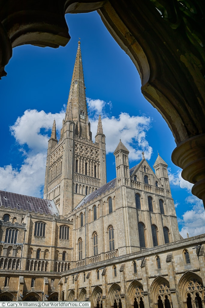 The Cathedral- framed, Norwich, Norfolk, England