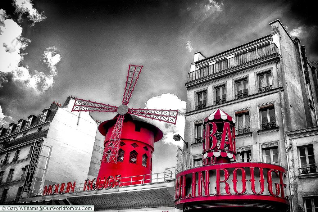 The Moulin Rouge, Paris, France