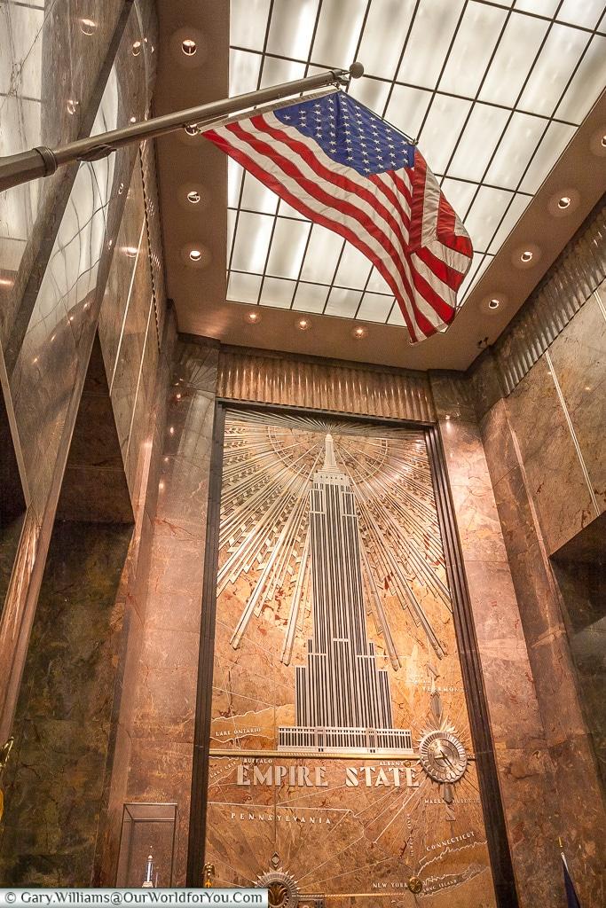 Inside the Empire State Building, Manhattan, New York, USA
