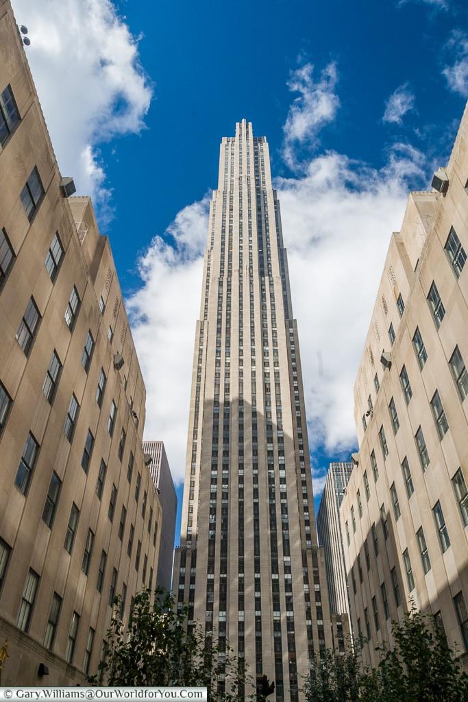 The Rockefeller Centre, Manhattan, New York, USA