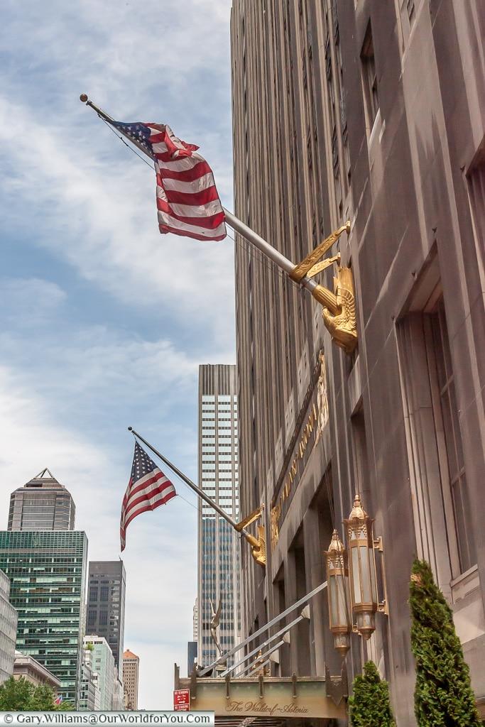 Waldorf Astoria - Park Ave, Manhattan, New York, USA