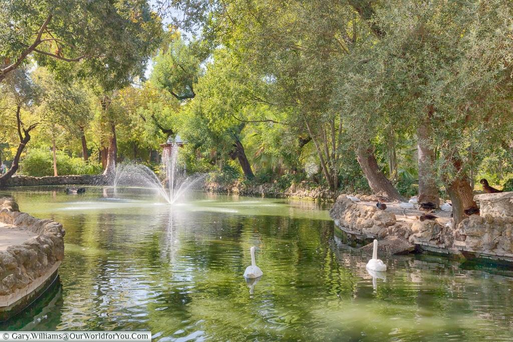Parque de Maria Luisa, Seville, Andalusia, Spain