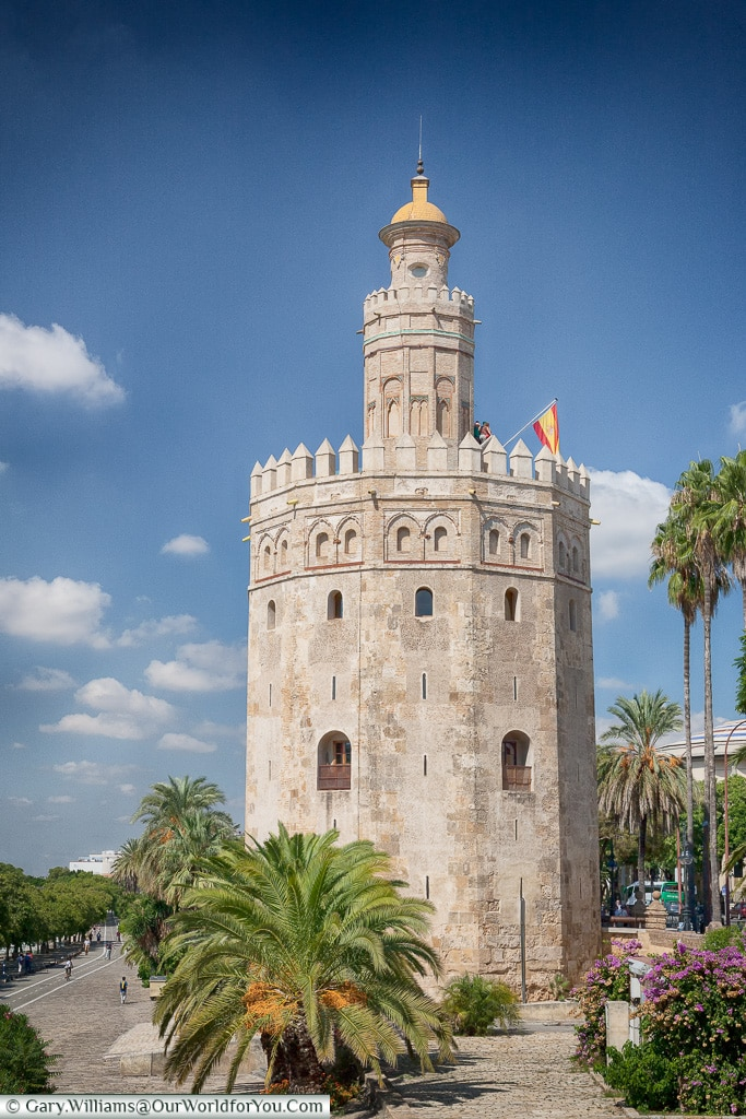 The Torre del Oro, Seville, Andalusia, Spain
