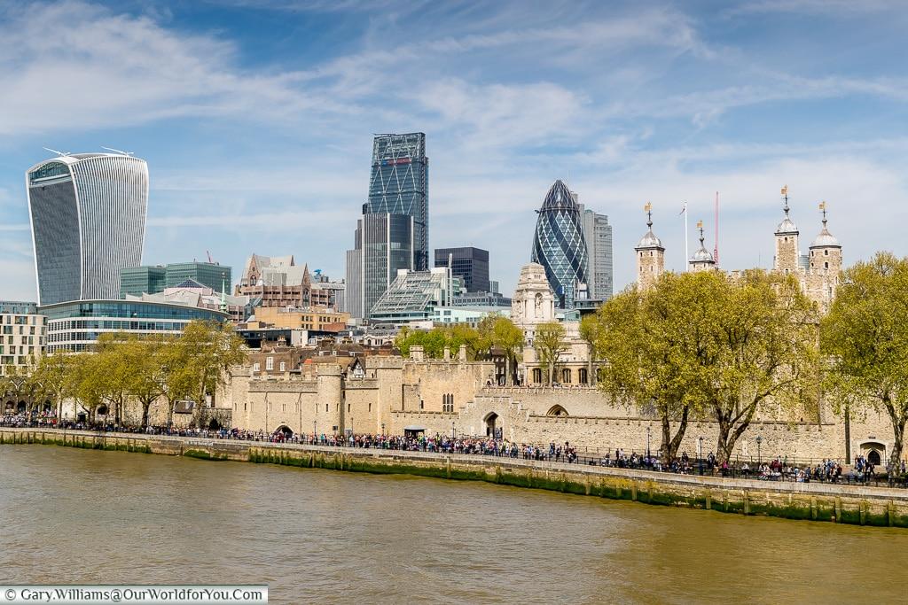 City Skyline, City of London, London, England, UK