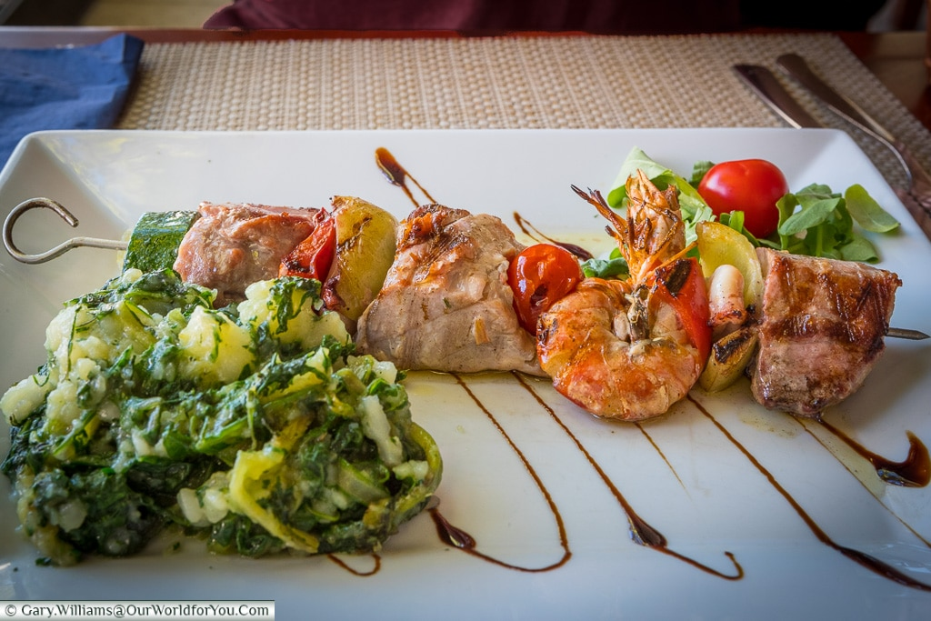 Fish Skewers, Croatian Food