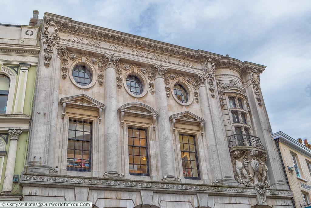 London & Provincial Bank Building, Norwich, Norfolk, England