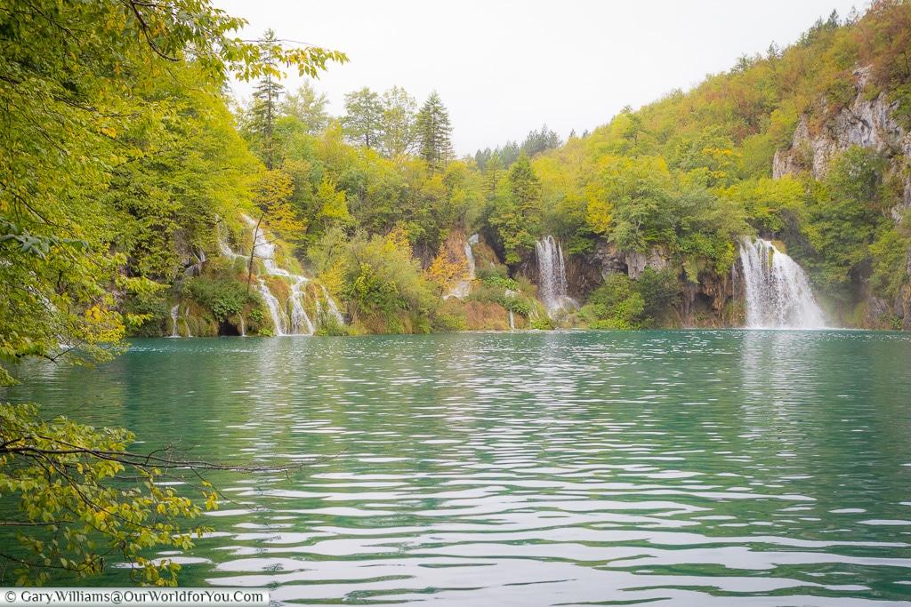 So many falls, Plitvice Lakes, Croatia