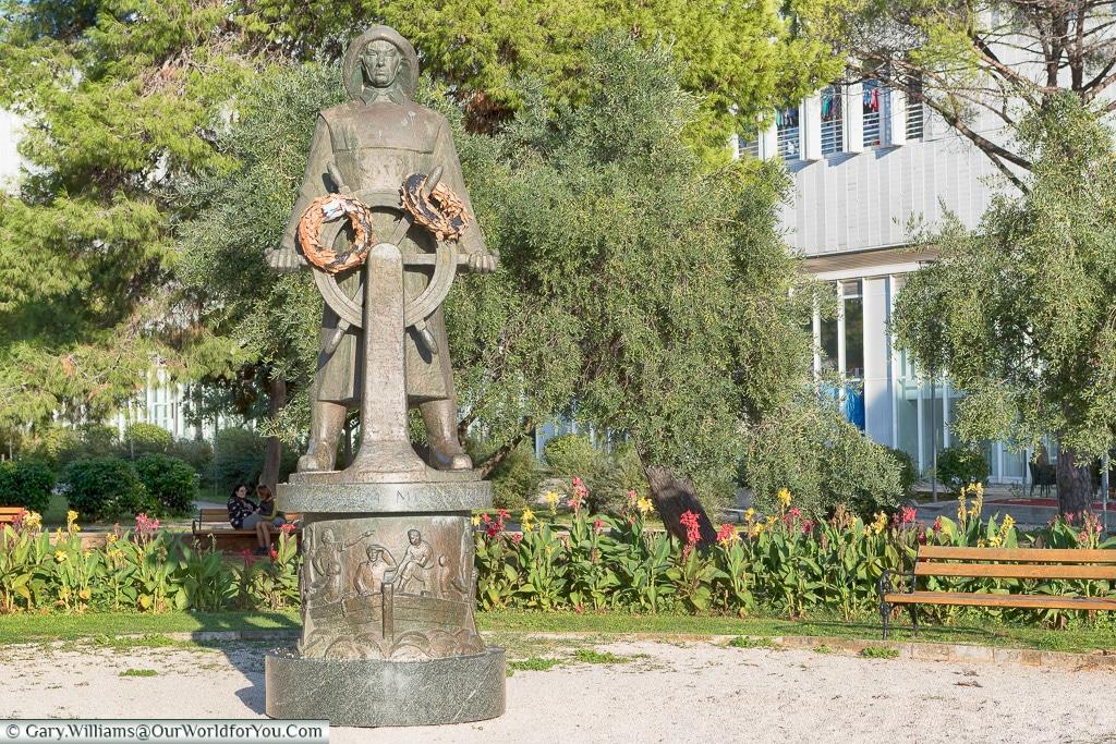 Tribute to the Sailors, Zadar, Croatia