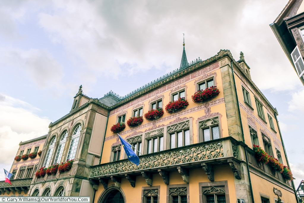 Hotel du Ville, Obernai, Alsace, France