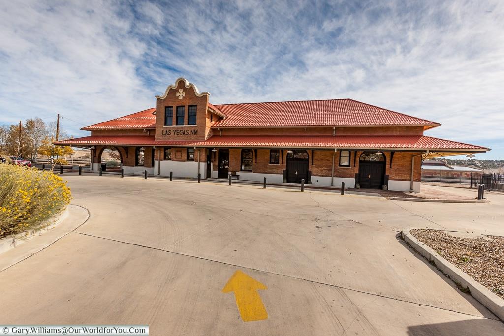 Las Vegas Railroad Station, New Mexico, America, USA