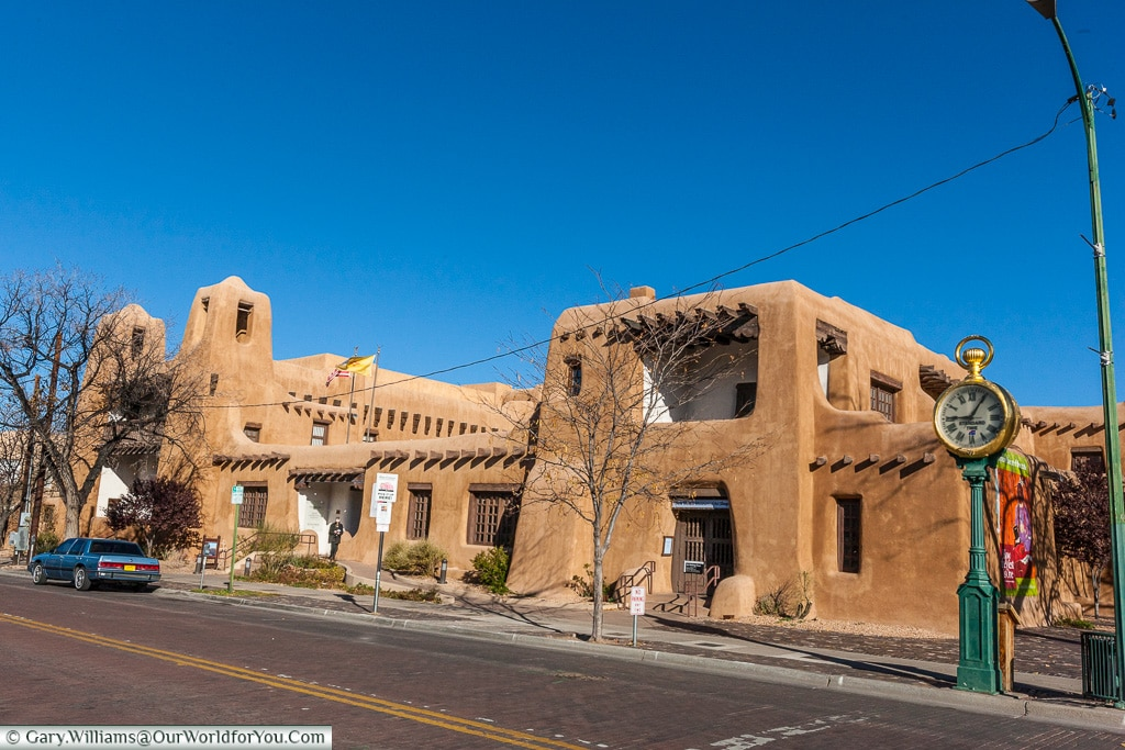 The New Mexico Museum of Art, Santa Fe, New Mexico, America, USA