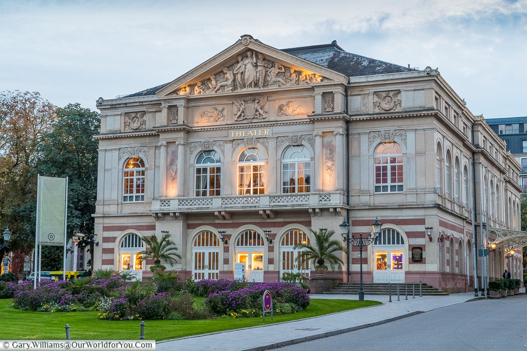 The Theatre, Baden-Baden, Germany