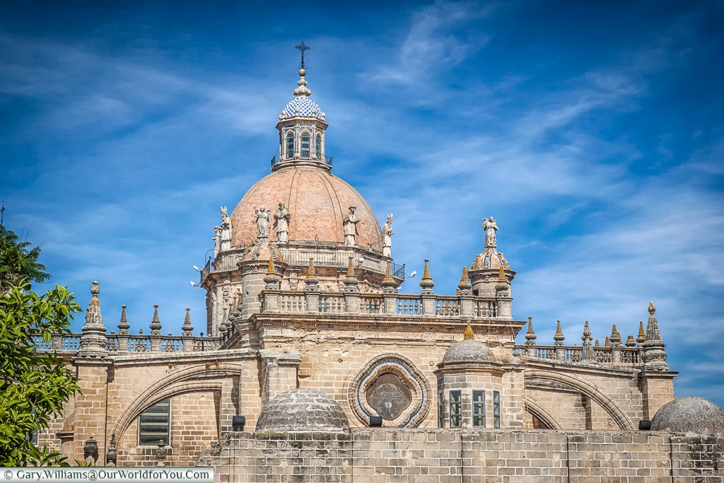The Cathedral rooftop, Jerez, Spain